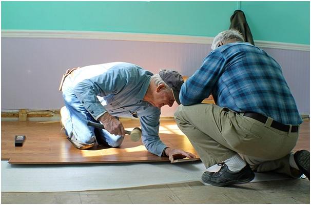 Acclimatising wood flooring
