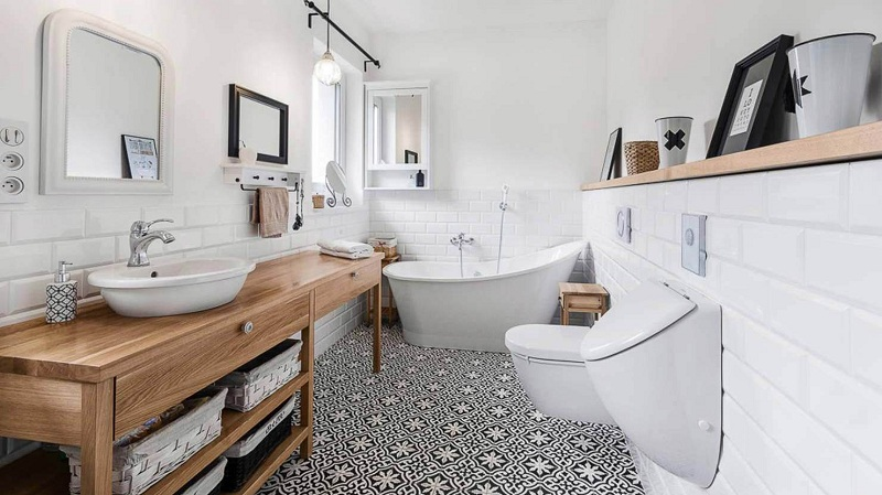 Scandinavian Style Bathroom