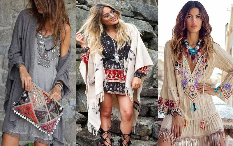 Hippie Style In Clothes for Girls