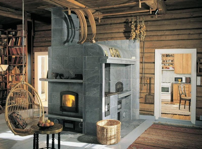 House Design With A Russian Stove - Tips On Interior Design